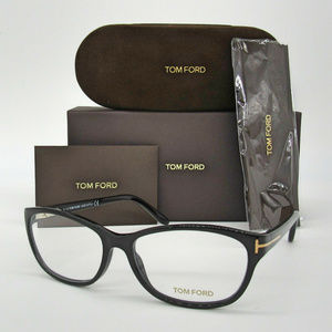 Tom Ford TF5142 001 Shiny Black 52mm Eyeglasses